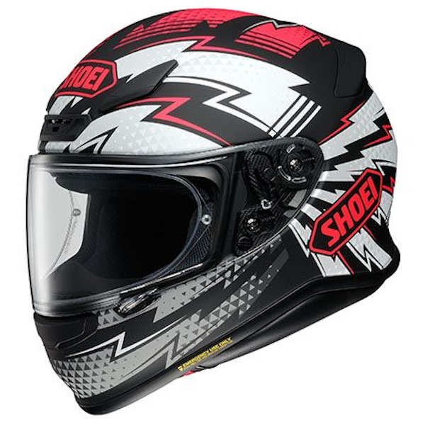 SHOEI Z-7 VARIABLE TC-1 レッド/ブラック(マットカラー) フルフェイスヘルメット バリアブル ショウエイ