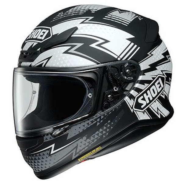 SHOEI Z-7 VARIABLE TC-5 ブラック/シルバー(マットカラー) フルフェイスヘルメット バリアブル ショウエイ