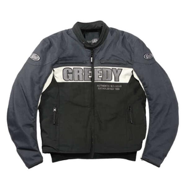 GREEDY GNW-301 SPORT JACKET グレー 秋冬用ジャケット