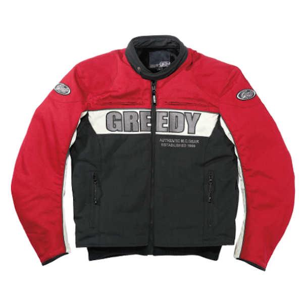 GREEDY GNW-301 SPORT JACKET レッド 秋冬用ジャケット