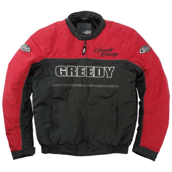 GREEDY GNW-302 RIDING JACKET レッド 秋冬用ジャケット