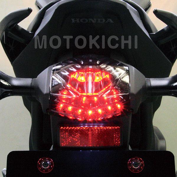 SP武川 タケガワ (05-08-0299) LEDテールランプ スモーク NC700S NC700X インテグラ CRF250L