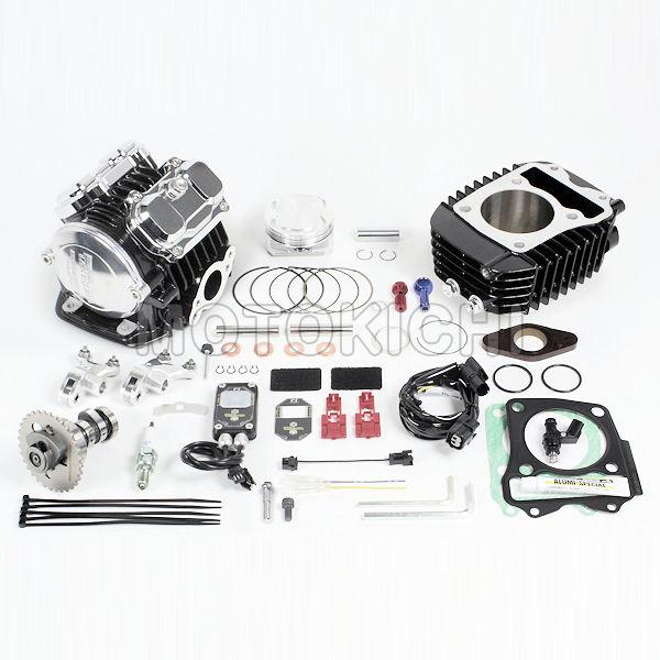 スーパーヘッド4V+Rコンボキット181cc ノーマルスロットルボディー用 16年 GROM MSX125 MSX125SF HONDA 01-05-0522 SP武川 タケガワ