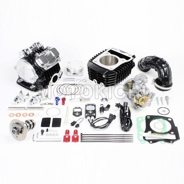 スーパーヘッド4V+Rコンボキット181cc ビッグスロットルボディー付き 16年 GROM MSX125SF HONDA 01-05-0523 SP武川 タケガワ