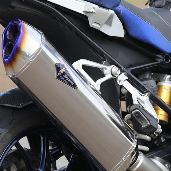 アールズギア RB01-03RT スリップオンチタンマフラー ワイバンリアルスペック チタン 水冷 【BMW】 R1200GS/GS-A