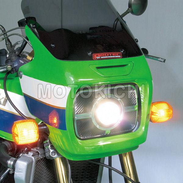 プロテック 63060-40 LH-3060 LEDプロジェクターヘッドライト 角目タイプ 4000K
