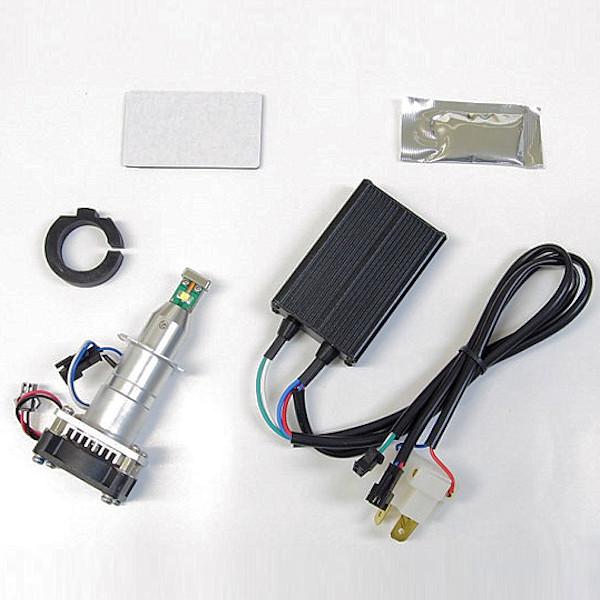プロテック 65029 LB7-S LEDヘッドライトバルブキット H7 6000K 20W CBR1000RR Ninja1000 Ninja250 YZF-R25