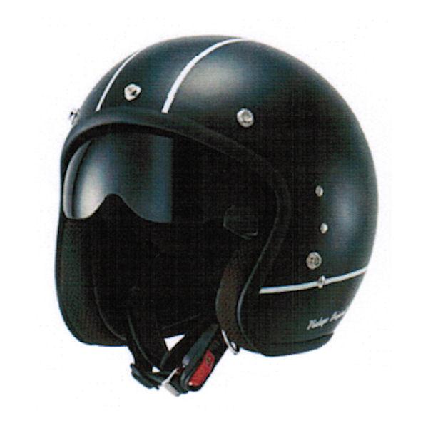アウル OWL HSJ-VBK インナーシールド付きスモールジェットヘルメット 57-59cm ビンテージブラック