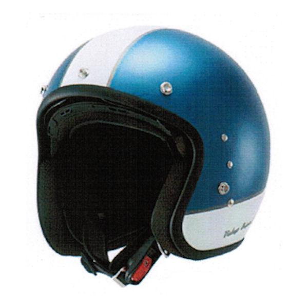 【あす楽対応】アウル OWL HSJ-VBL インナーシールド付きスモールジェットヘルメット 57-59cm ビンテージブルー