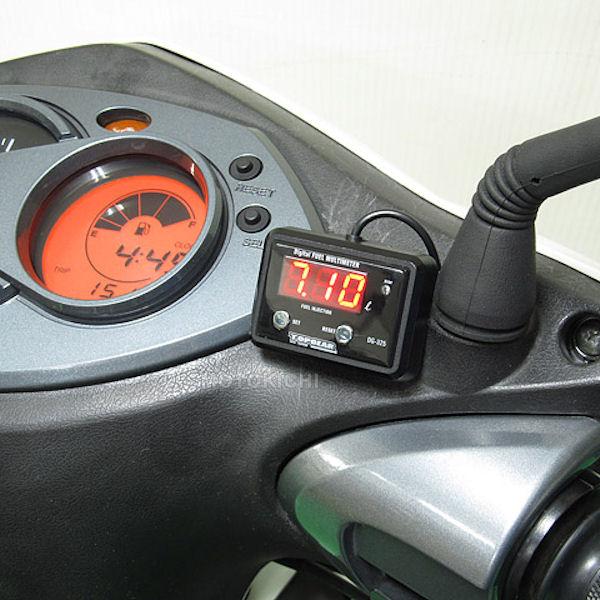 PROTEC プロテック DG-Y01 デジタル燃料計 FI車専用 シグナスX/SR '07~ SE44J 国内仕様専用
