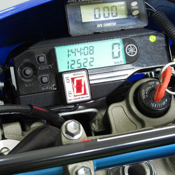 プロテック SPI-Y30 シフトポジションインジケーター (No.11316) WR250X WR250R ['08~ 3D7]専用【YAMAHA】