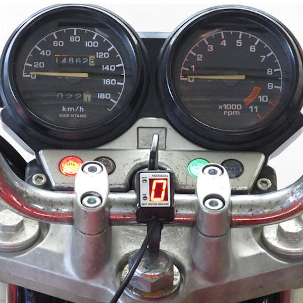 プロテック SPI-H04 シフトポジションインジケーター (No.11064) CB750 (ワイヤーメーター車)[RC42 '92~'03]【HONDA】