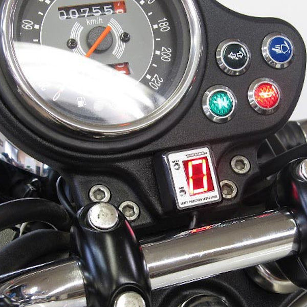 プロテック SPI-I81 シフトポジションインジケーター (No.11089) トライアンフ ボンネビル ['09~ SMTTJ9107]【Triumph】
