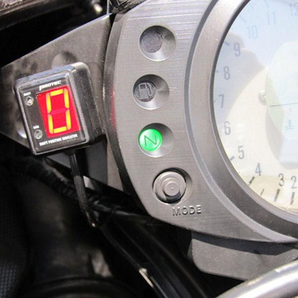 プロテック SPI-K45 シフトポジションインジケーター (No.11355) ZX-10R [D6F/D7F '06~'07]【KAWASAKI】