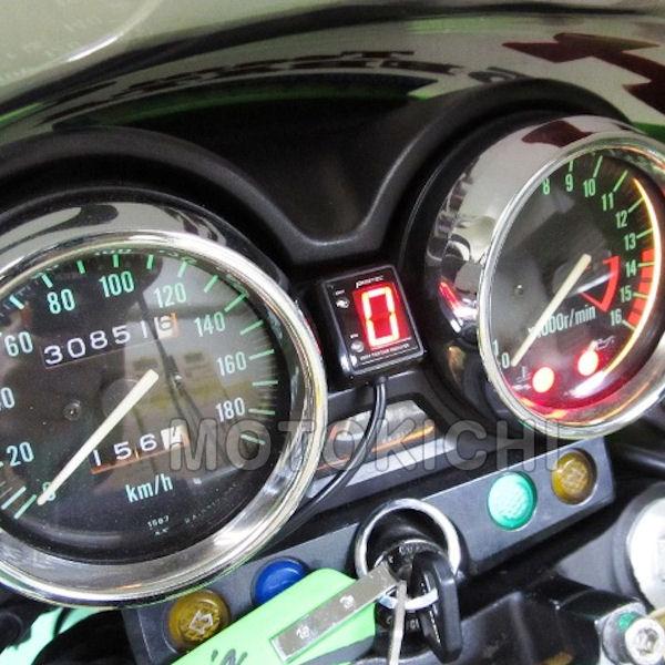 プロテック SPI-K49 シフトポジションインジケーター (No.11346) ZRX400 [ZR400E '94~'97年]【KAWASAKI】