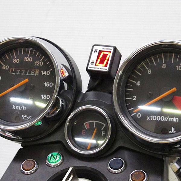 プロテック SPI-S42 シフトポジションインジケーター (No.11076) バンディット250V [GJ77A '95~]【SUZUKI】