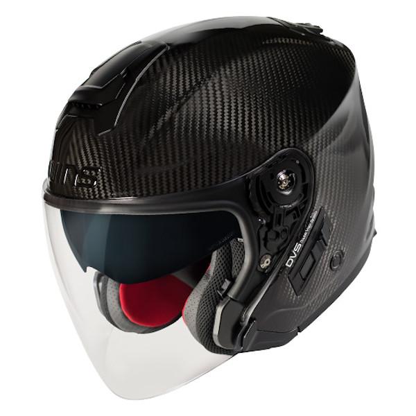 【在庫あり】WINS A-FORCE RS JET Lサイズ インナーシールド付き カーボン ジェットヘルメット