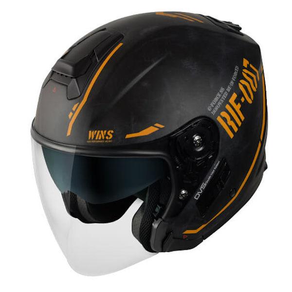 ウインズジャパン G-FORCE SS JET 在庫あり WINS コンチネンタルイエロー ジェットヘルメット STEALTH 激安セール Lサイズ 買収