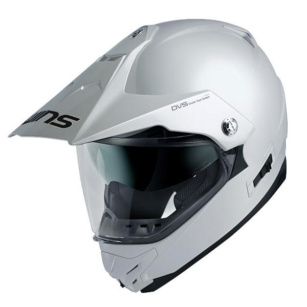 WINS X-ROAD クールホワイト モトクロス トレイル ストリート ヘルメット