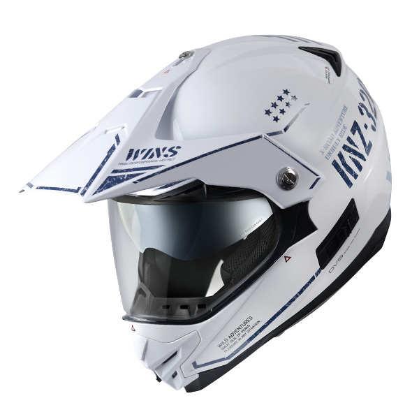 WINS X-ROAD COMBAT セラミックホワイト(艶あり) XLサイズ モトクロス トレイル ヘルメット