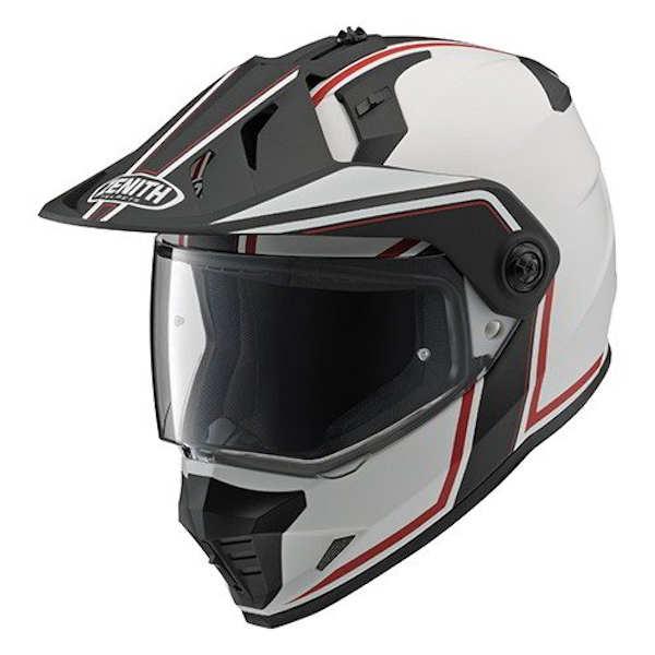 YAMAHA純正 YX-6 ZENITH GF-03 レッド オフロード用ヘルメット 90791-1789
