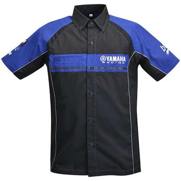 YAMAHA純正 ヤマハ YRB15 ピットシャツ 90792-Y091 ヤマハレーシング【YAMAHA RACING】