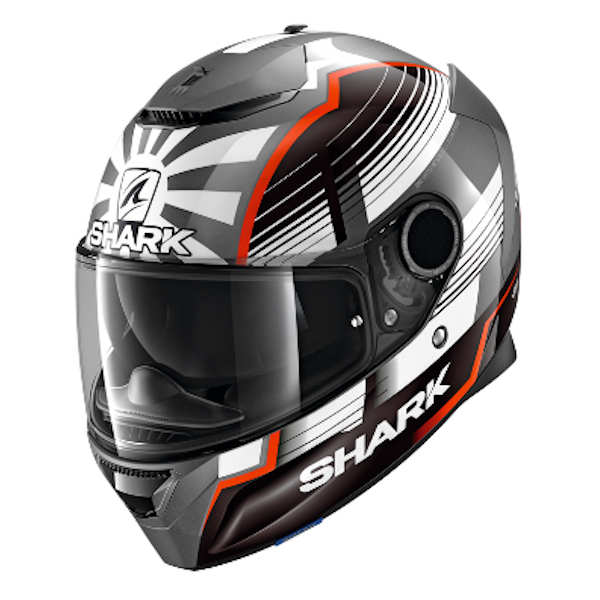 shark ヘルメット SPARTAN Replica ZARCO MALASIAN GP YAMAHA ザルコ フルフェイスヘルメット