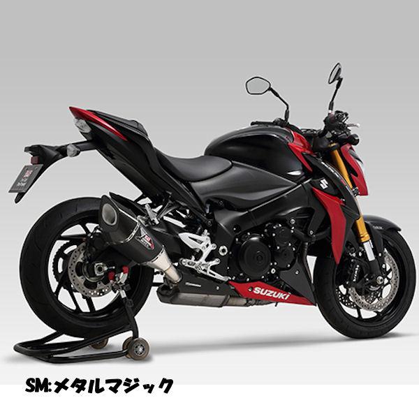 ヨシムラ YOSHIMURA 110-196-L12G0 Slip-On R-11Sqサイクロン EXPORT SPEC SM (メタルマジックカバー) 政府認証 (ヒートガード付属) SUZUKI GSX-S1000/F