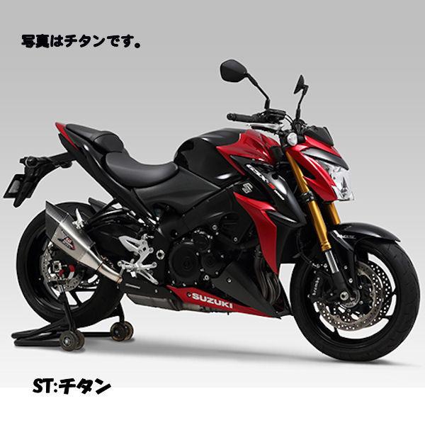 ヨシムラ YOSHIMURA 110-196-L15G0 Slip-On R-11Sqサイクロン EXPORT SPEC SS (ステンレスカバー) 政府認証 (ヒートガード付属) SUZUKI GSX-S1000/F