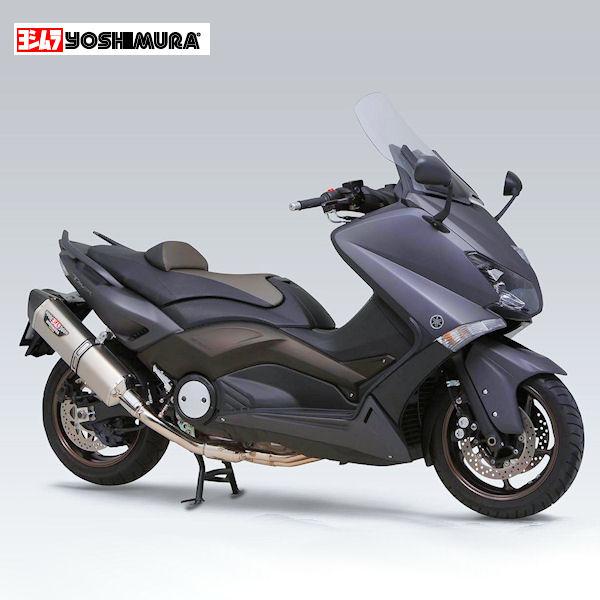 ヨシムラ YOSHIMURA 110-389-C02G0 フルエキマフラー サイクロン HEPTA FORCE Type-SMC YAMAHA TMAX530