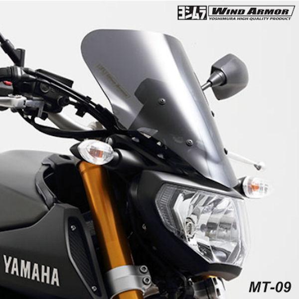 522-380-1000 ウインドスクリーン YAMAHA MT-09 ヨシムラ WIND ARMOR