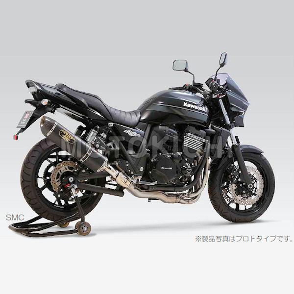 ヨシムラ YOSHIMURA 110-28415W50 KAWASAKI ZRX1200 DAEG Slip-On R-77S サイクロン LEPTOS 政府認証(SSC)