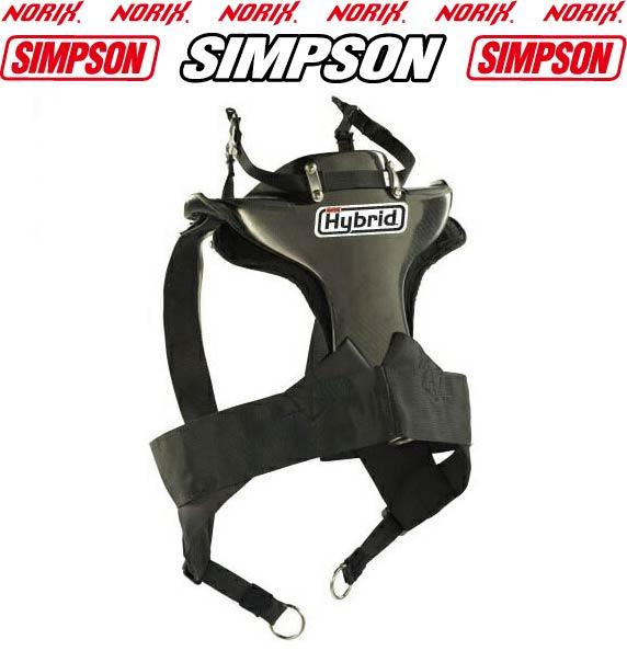 USAシンプソン四輪ハイブリッドFIA 公認SIMPSON HYBRID着用例。実際の商品は画像とは多少違うことがございます。ヘルメットは付属しません。