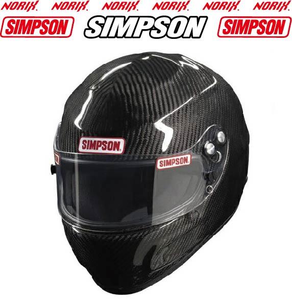 USAシンプソン四輪SIMPSON CARBON DEVIL RAY HELMETシンプソン カーボンデビルレイヘルメット四輪用ヘルメット
