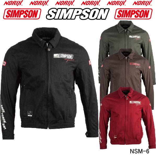 SIMPSONNSM-6 シンプソン T/C Swing Top2019春夏モデルNORIX