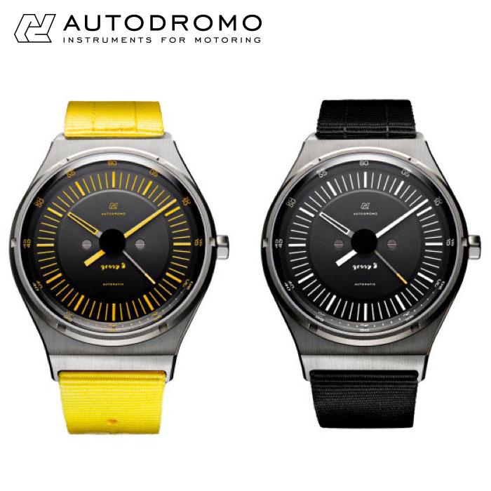 【アウトドローモ/AUTODROMO】GROUP B AUTOMATIC 腕時計 メンズ