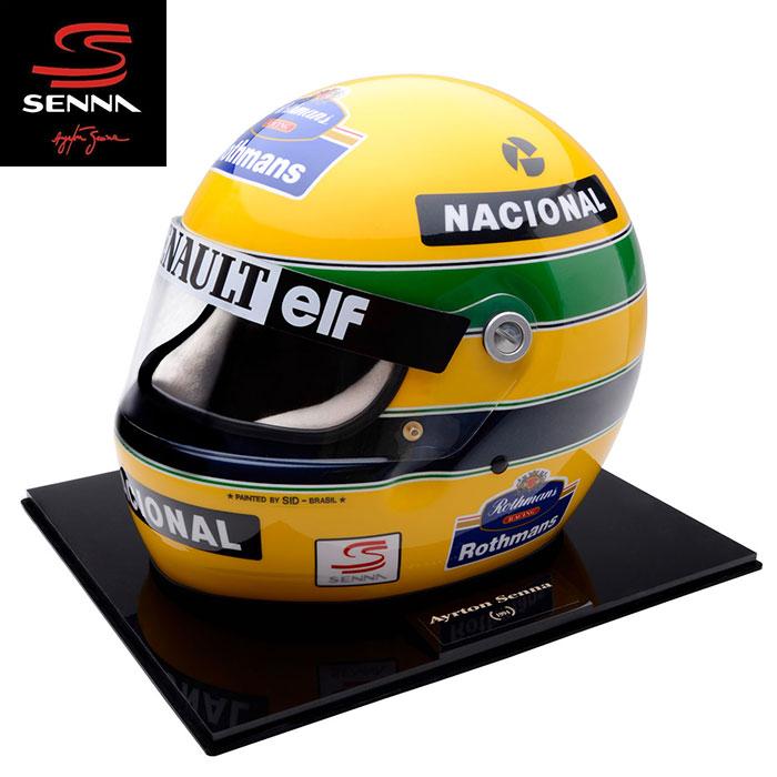 予約/受注発注【アイルトン セナ/Ayrton Senna】1994 アイルトン・セナ レプリカヘルメット 1/1スケール ID MOSCA製ハンドメイド F1