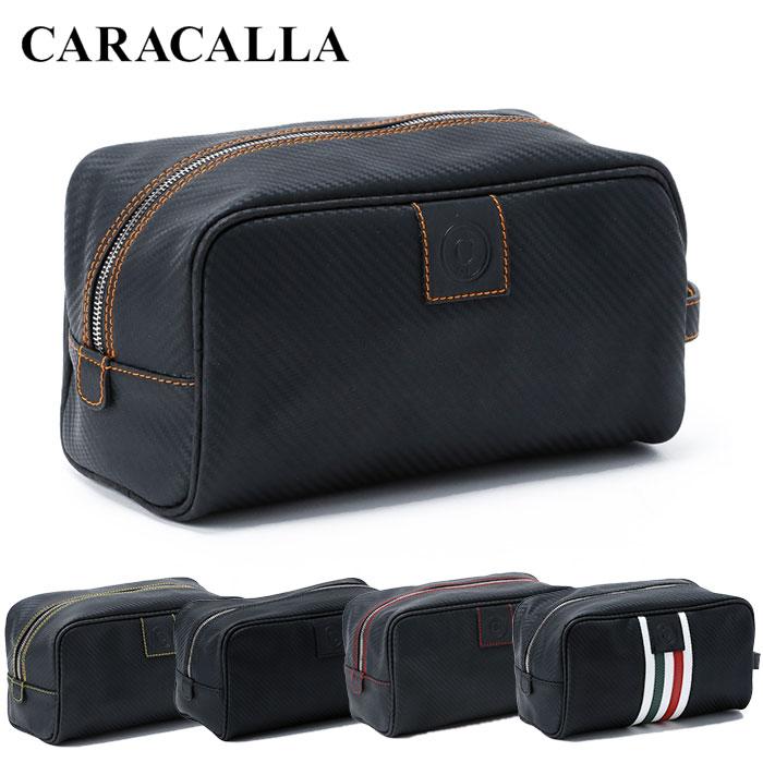 【カラカーラ/CARACALLA】カルボニオ・ウォッシュバッグ ハンドメイド レザー イタリア製