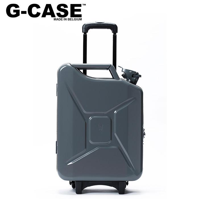 【ジーケース/G-CASE】キャリーケース ダークグレー Carry Case ジェリカン トラベルバック ミリタリー バッグ 機内持ち込み可能