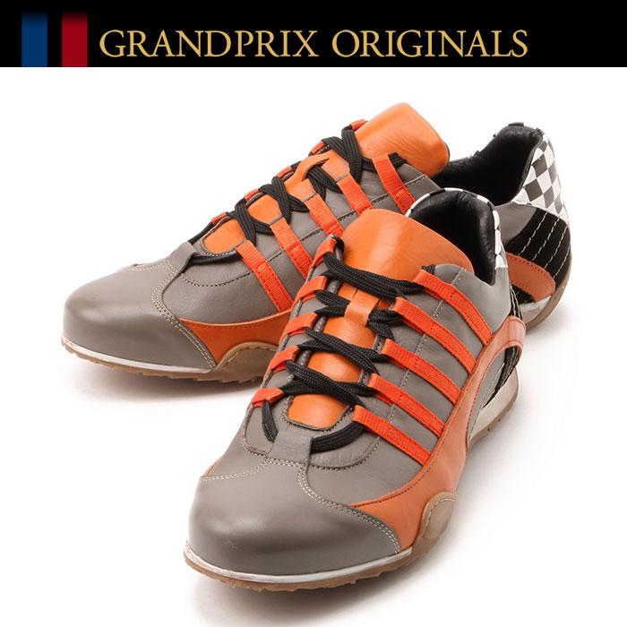 【グランプリ オリジナル/GRANDPRIX ORIGINALS】レーシング スニーカー ドライビングシューズ レザー イタリアンハンドメイドスニーカー RACING SNEAKER