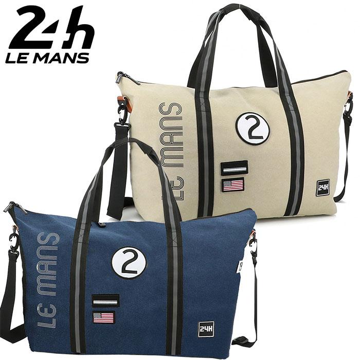 【ル・マン24時間/Le Mans 24h】レジェンダリー 2way トートバッグ ショルダーバッグ 映画「フォードvsフェラーリ」 フォードGT40 Mk.II ル・マン24時間公式ライセンス商品