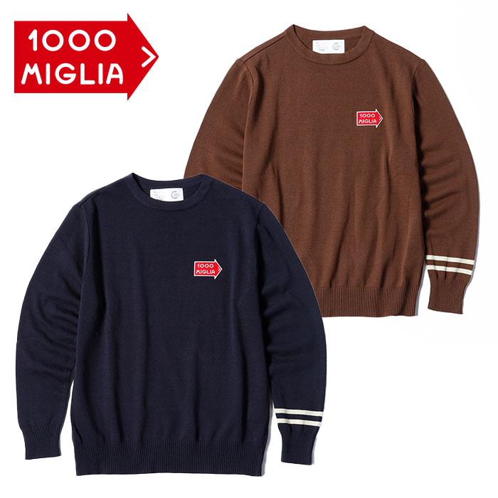 【ミッレ ミリア/Mille Miglia】La Festa クルーネックセーター