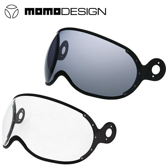 【モモデザイン/MOMO DESIGN】CLEAR SHIELD FIGHTER TYPE シールド ファイタータイプ バイク シールド