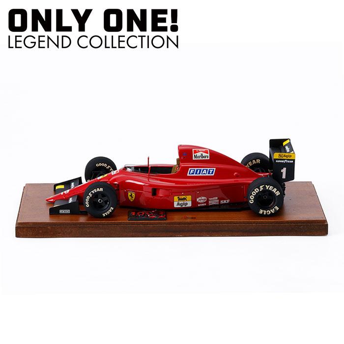 【ONLY ONE LEGEND COLLECTION】1/16スケール フェラーリ 641/2 1990 フランスGP モデルカー