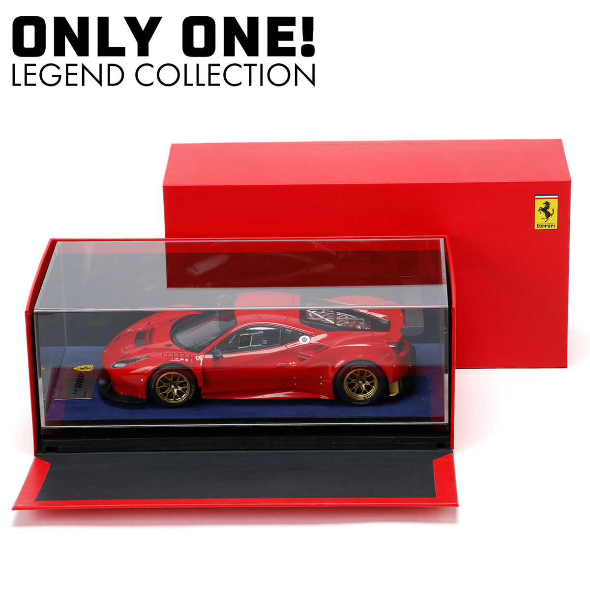 【ONLY ONE LEGEND COLLECTION】looksmart 1/18 フェラーリ 488 GT3 FIA-GT3専用車両