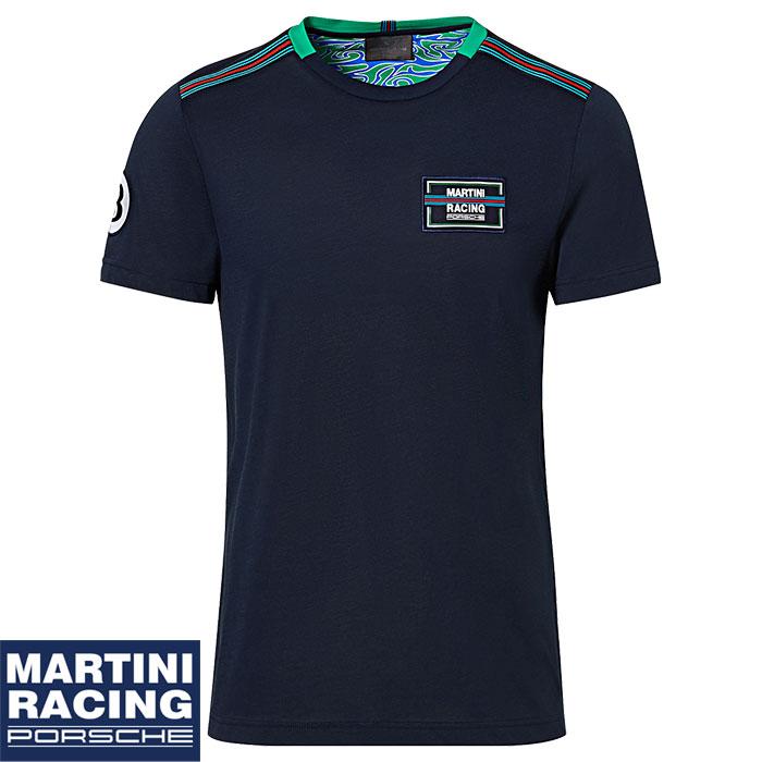 【ポルシェ マルティニ レーシング/PORSCHE MARTINI RACING】Tシャツ メンズ 半袖 ロゴ ポルシェ917L ルマン24時間耐久レース