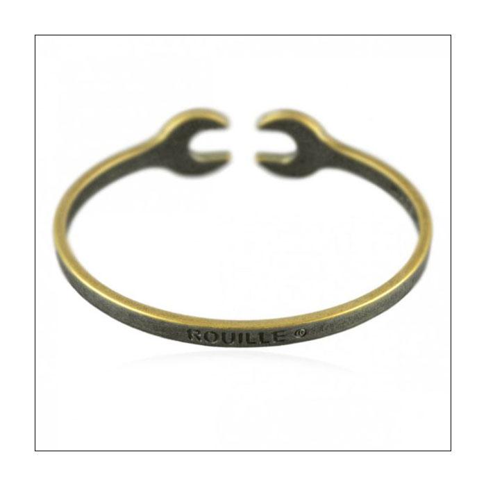 送料無料 ルイユ Rouille ブレスレット レースレット シルバー スパナ 工具 アクセサリー バングル イタリア製 バレンkXiuPZTO