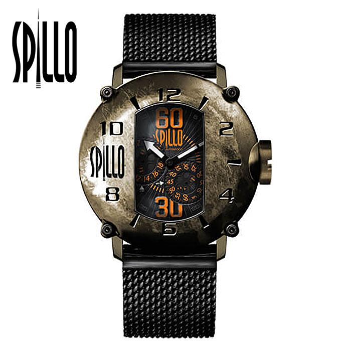 ポイント3倍!【スピーロ/SPILLO】SPEED DEMON 1000-V6 腕時計 メンズ イタリア バイク カフェレーサー