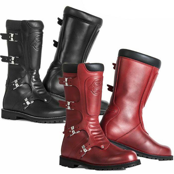 イタリア産にこだわり 伝統と革新そして情熱に満ち溢れたライディングブーツ スティル 最安値挑戦 マーティン Stylmartin CONTINENTAL ロングレザーブーツ 店内全品対象 レザー ブラック ライディングブーツ オフロード