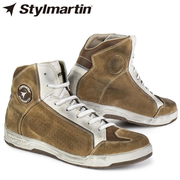 【スティル マーティン/Stylmartin】COLORADO ライディングスニーカー バイク シューズ プロテクション スウェード
